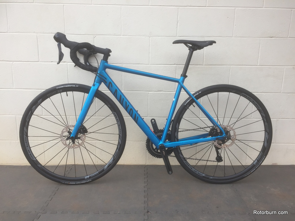 Product Review - The Dark Side: Canyon Endurace AL 7 0 Disc | Rotorburn